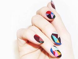 指尖艺术 不规则形状美甲