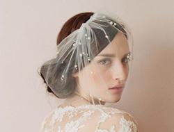 头顶上的光芒 优雅新娘必备珠宝头饰