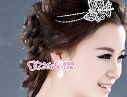 奢华钻石新娘项链,华丽性感耀眼迷人