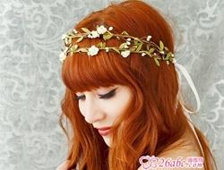 超美新娘发饰 让你婚礼当天光彩照人