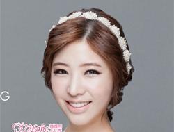 韩式新娘唯美优雅造发型欣赏