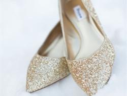 这些平底鞋也能做婚鞋 你知道吗