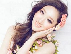 韩式完美梦幻新娘妆摄影照片