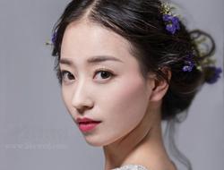 森系唯美时尚新娘清新甜美新娘妆