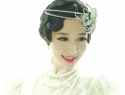 复古新娘妆典雅浪漫新娘造型性感优雅