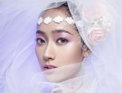 另类创意新娘妆个性时尚新娘妆容