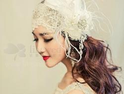 个性新娘造型气质时尚新娘妆