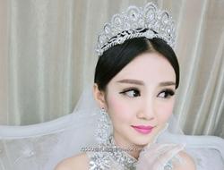 新娘造型女王范奢华造型气质新娘妆