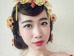 复古优雅具有古典气韵 中式新娘妆容diy教程