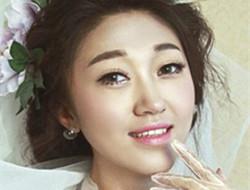 八个步骤做个端庄新娘 韩式新娘妆面图片