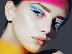 最独特的彩色妆容 新娘化妆彩妆造型灵感
