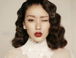 不同发型不同妆容 新娘妆
