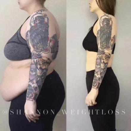 纹身胖了会变形吗 几款胖子纹身瘦了之后的效果对比图