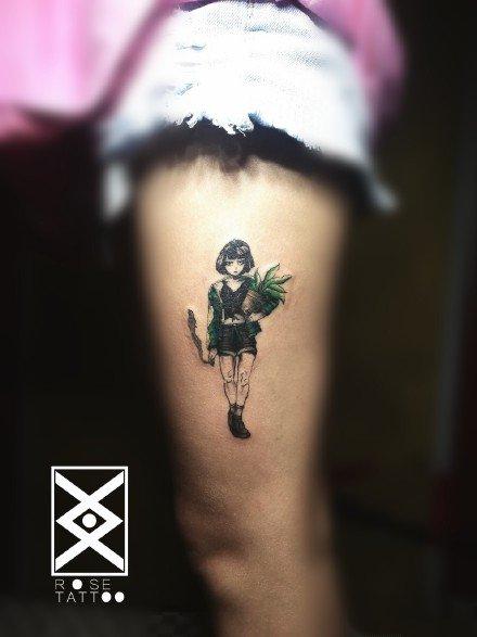 新乡纹身 河南新乡rosetattoo的18款纹身作品