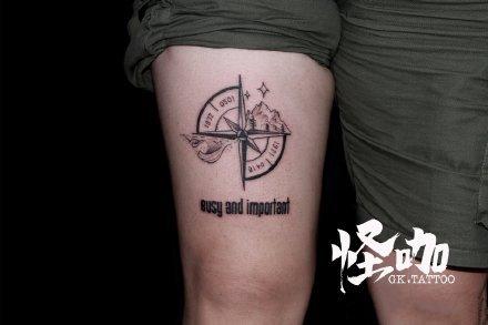 成都刺青 四川成都怪咖纹身的几款纹身作品