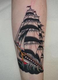 16款黑灰和school的帆船