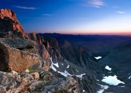 绵延不断雄伟的高山自然风景图片(9张)