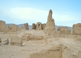 新疆吐鲁番高昌故城自然风景图片(8张)