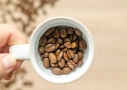 桌子上的咖啡豆图片(12张)