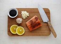 新鲜三文鱼的图片(12张)