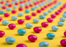 五彩巧克力糖果图片(10张)