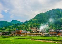 贵州黔东南西江千户苗寨自然风景图片(10张)