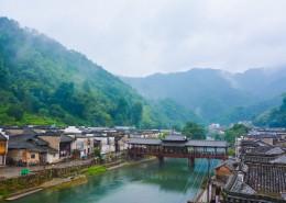 江西瑶里古镇建筑风景图片(14张)