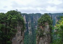 湖南张家界自然风景图片(10张)