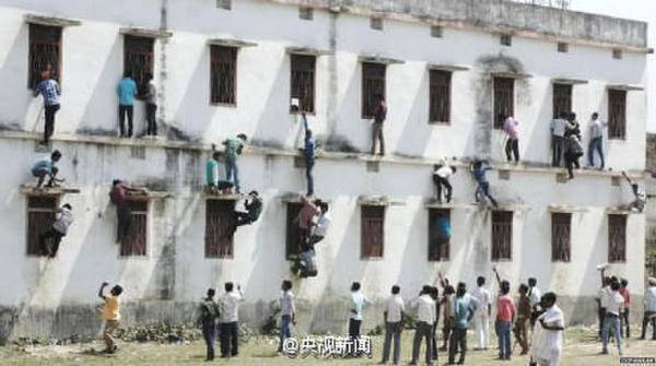 印度900多人因考试作弊被捕