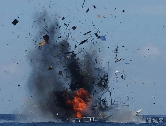 印尼炸毁中越渔船是挑衅?