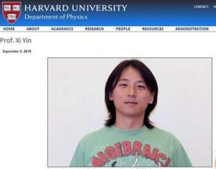 中科大学霸尹希31岁成哈佛正教授 破华人记录
