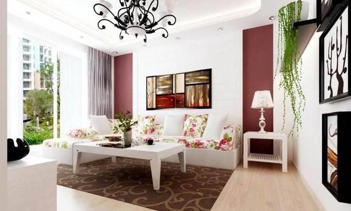 复式客厅欧式田园装修风格设计