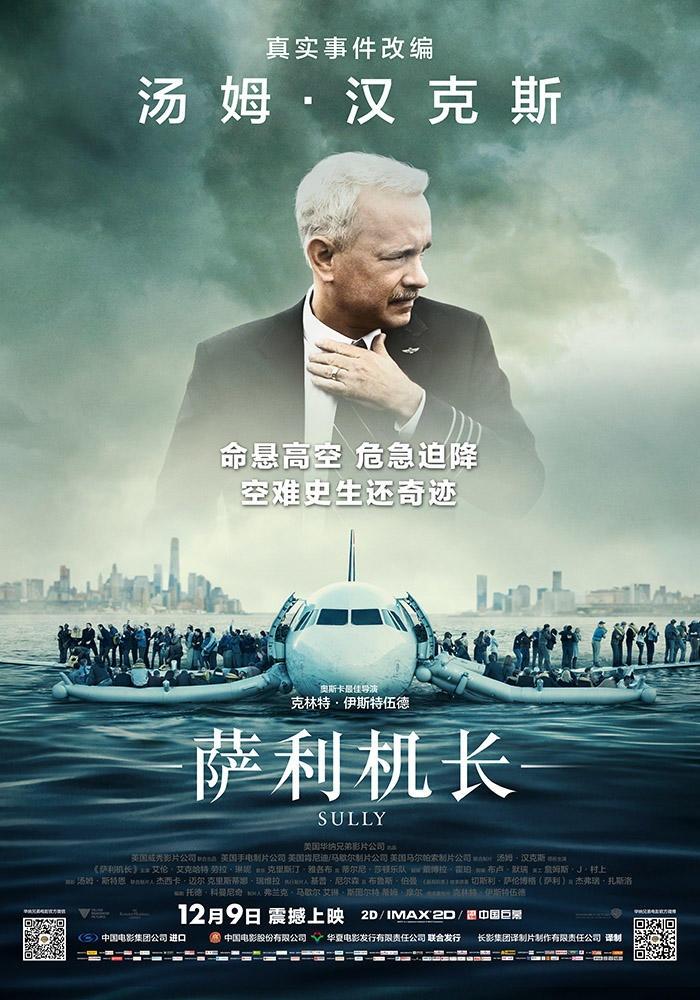 最新电影《萨利机长》海报图片
