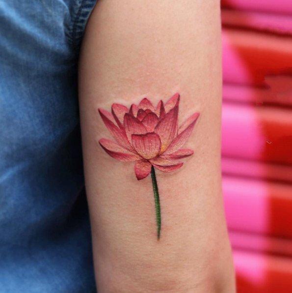 小清新纹身  唯美的小清新纹身图案
