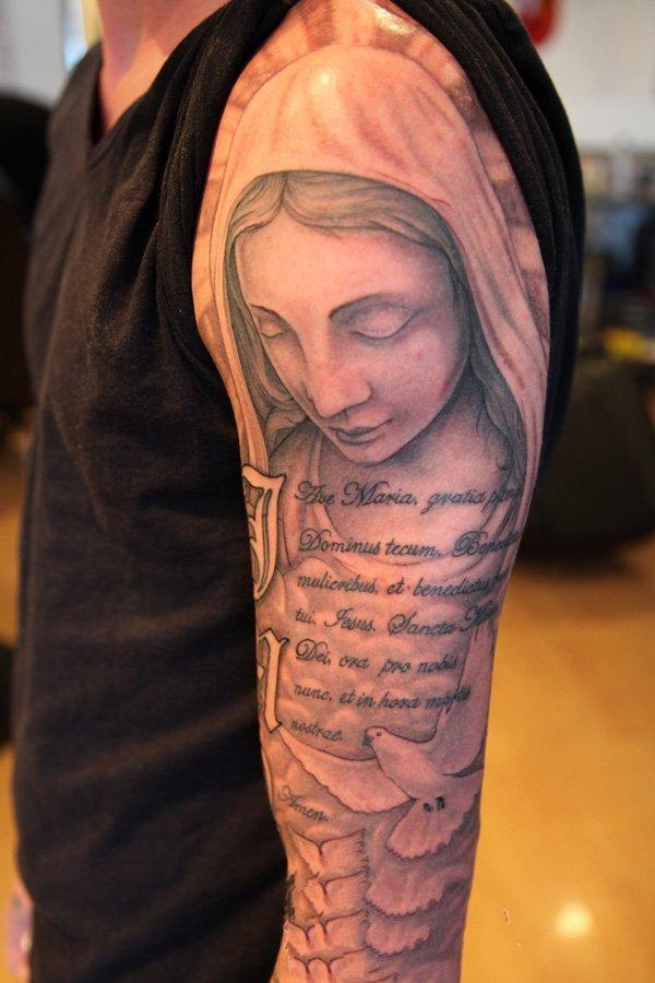 手臂纹身  个性十足的手臂纹身图案