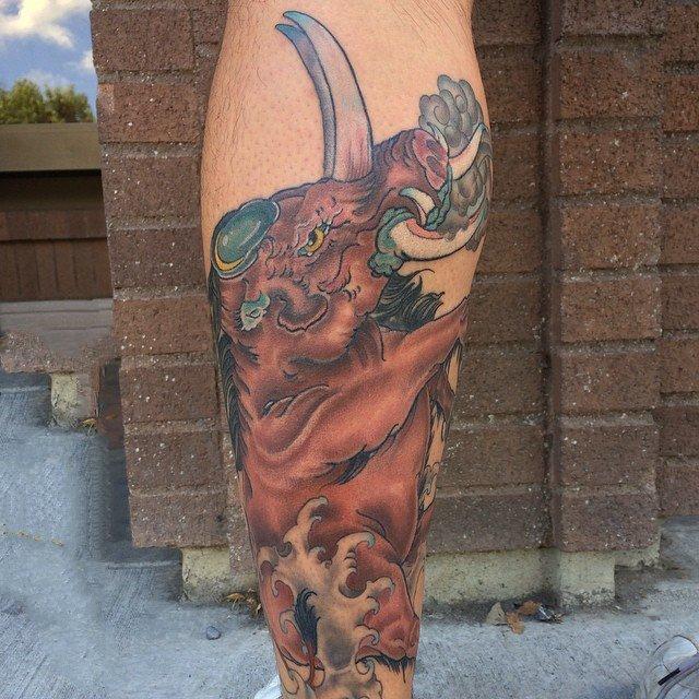 小动物纹身   多款精致的小动物纹身图案