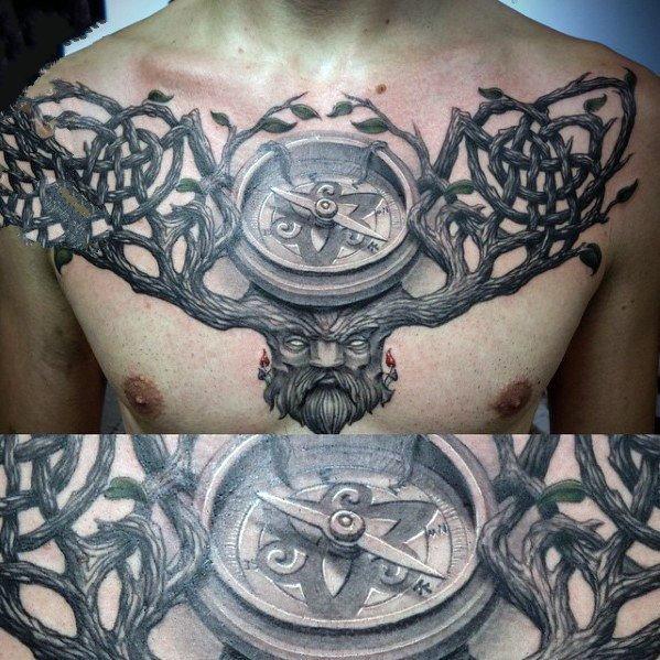 3d写实纹身  多款创意写实的3d纹身图案