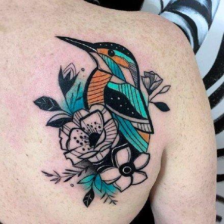 创意纹身图片-来自波兰的纹身师Marta Kudu作品创意纹身图案