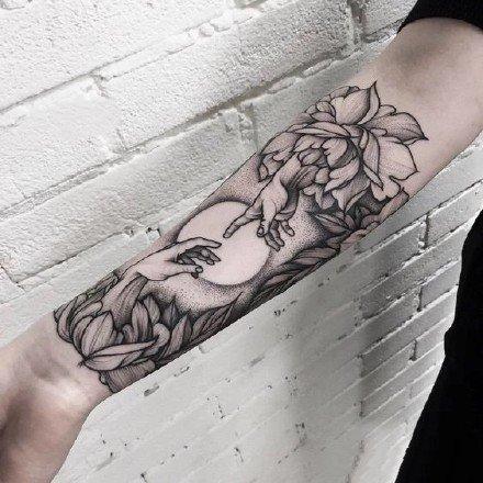 手臂纹身图案-9张适合在手臂的纹身图片