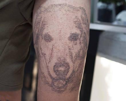 代码纹身:程序员最爱的由代码组成的纹身图案9张