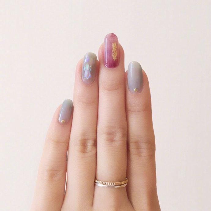 超温柔的秋季美甲款,精致到指尖的小仙女