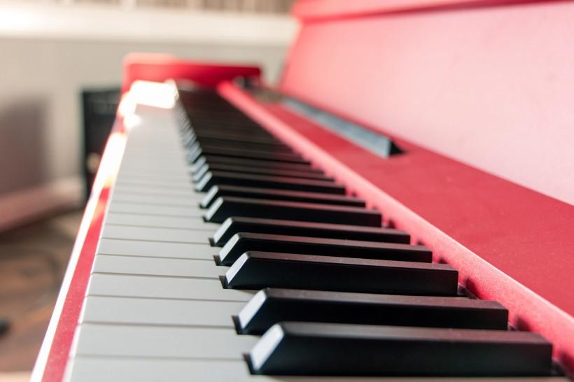 钢琴的黑白键盘图片(15张)