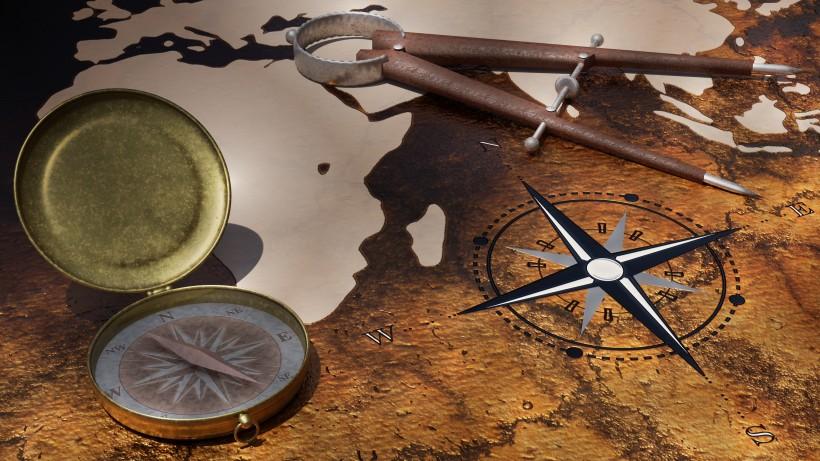 各种各样的指南针图片(11张)
