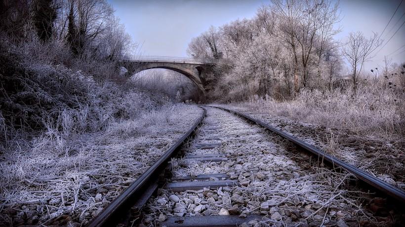 火车铁路轨道图片(15张)