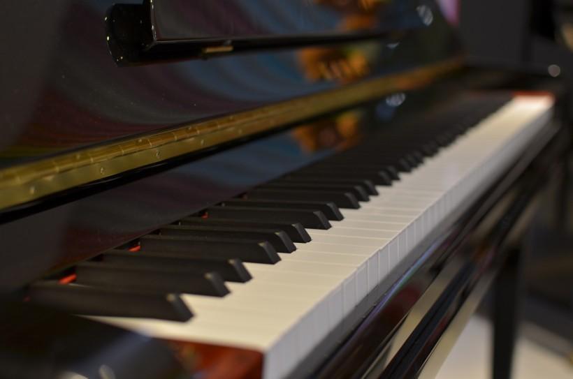 钢琴的黑白键盘图片(11张)