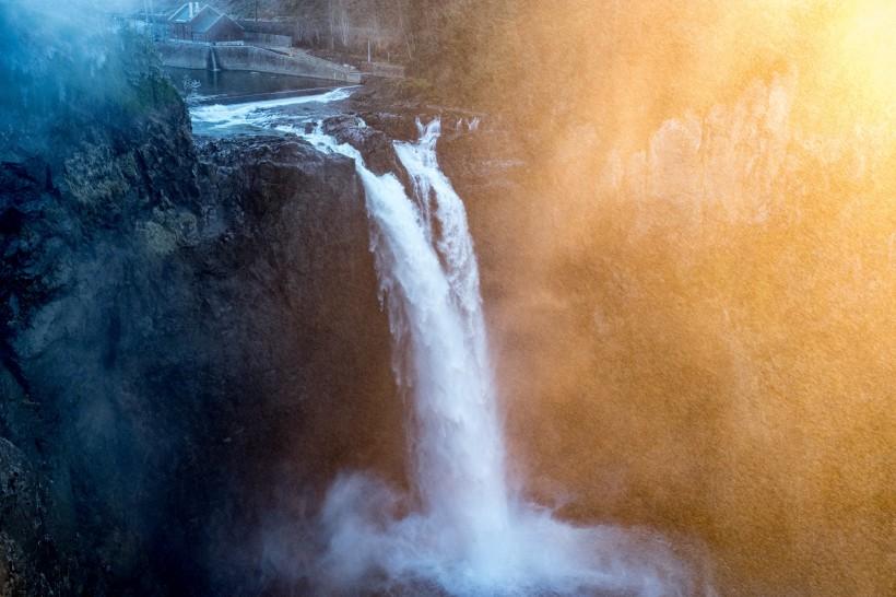 秀丽的小瀑布图片(13张)