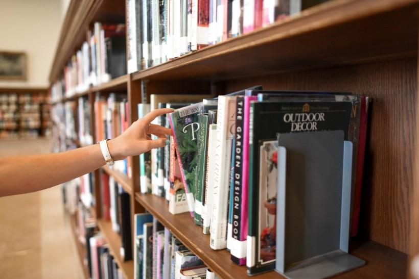 整洁的图书馆图片(10张)