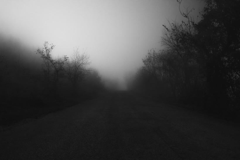 雾天的山林图片(11张)