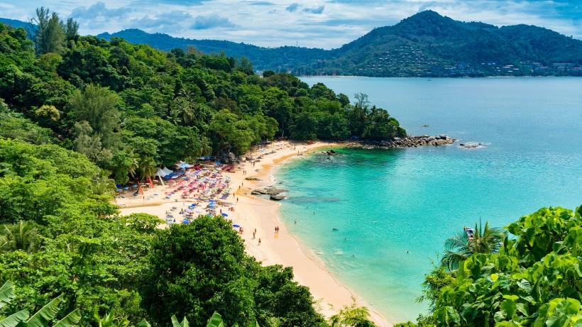 美丽的泰国海滩自然风景图片(8张)