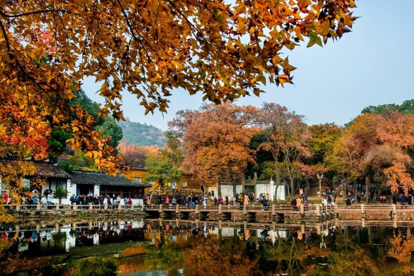 江苏苏州天平山自然风景图片(10张)